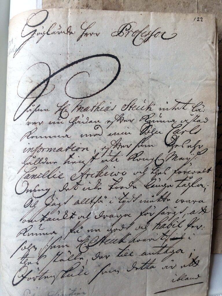 Christina Piper brev 16.3 1713_ sid 1