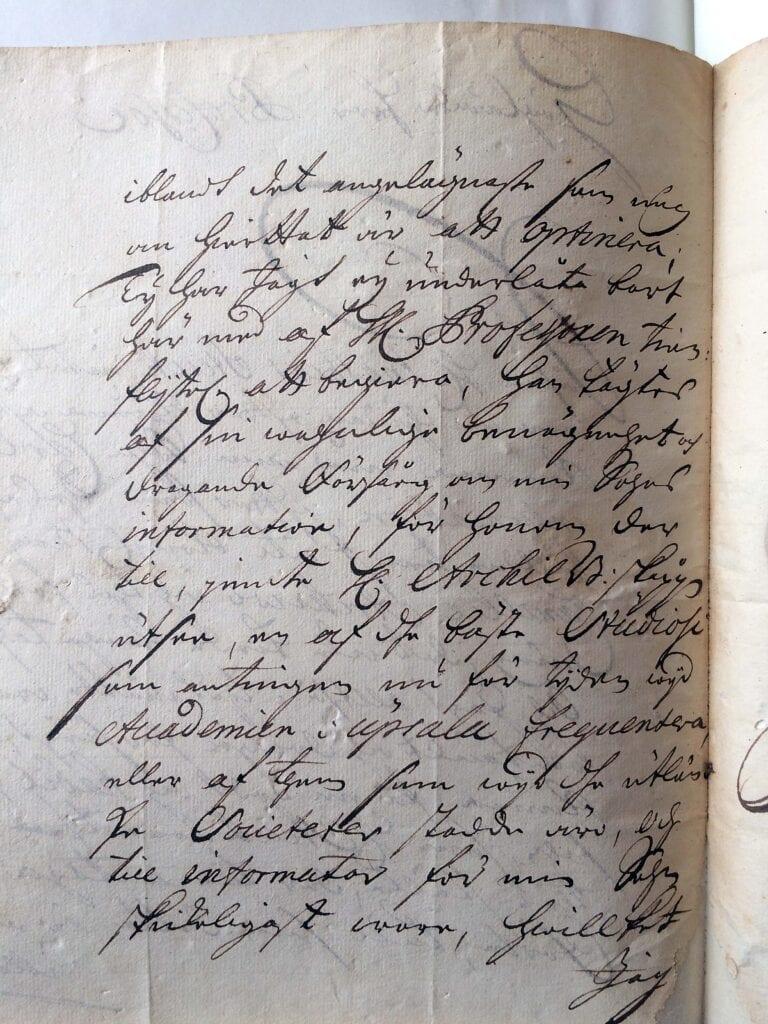 Christina Piper brev 16.3 1713_ sid 2