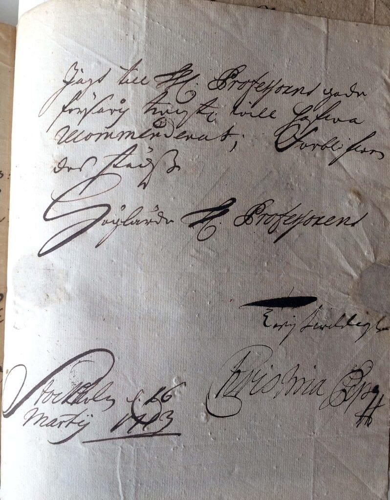 Christina Piper brev 16.3 1713_sid 3