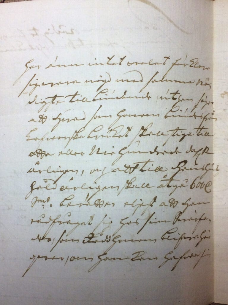 Brev till Christina Piper från Ryting 23 mars 1741 sid 2
