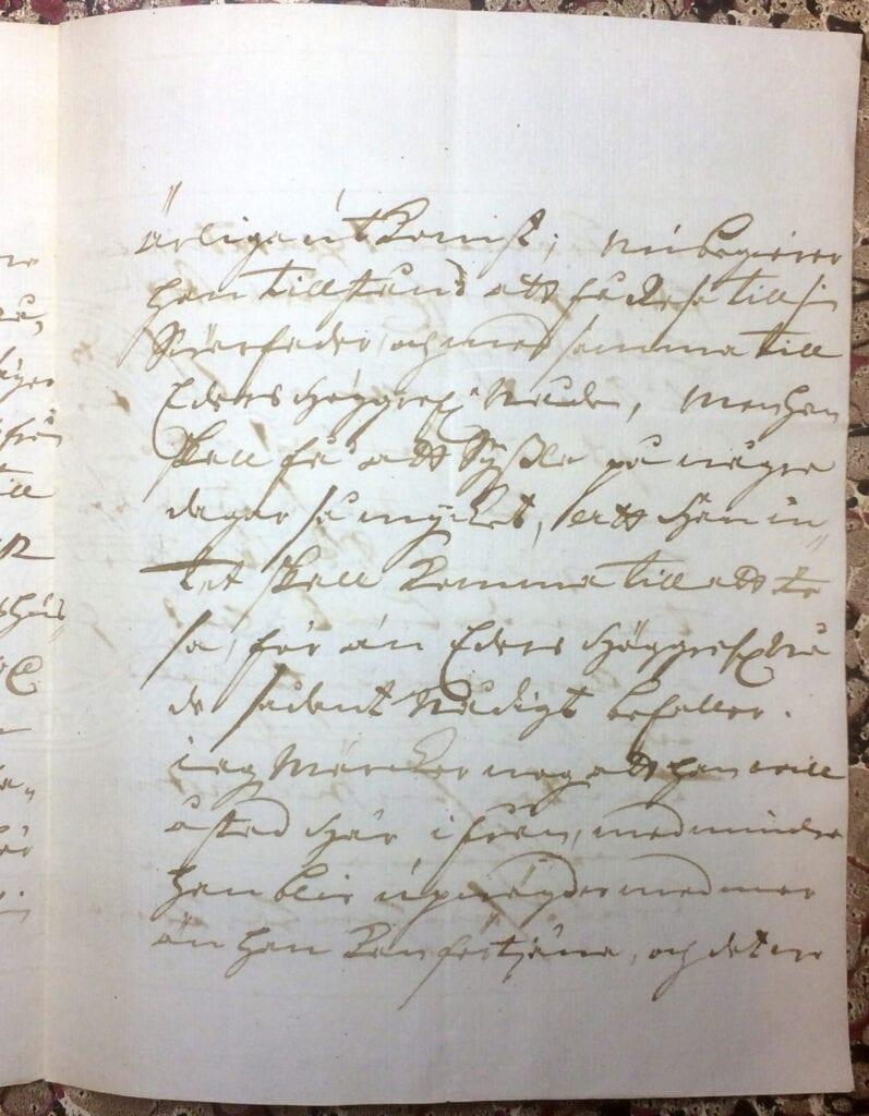 Brev till Christina Piper från Ryting 23 mars 1741 sid 3