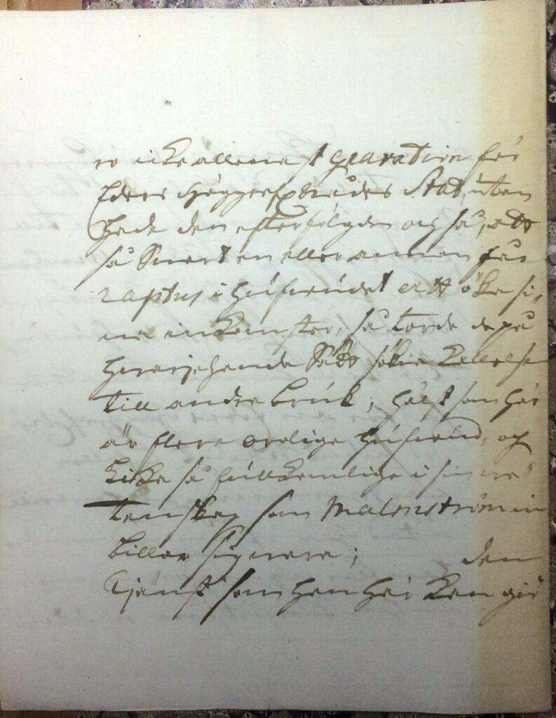 Brev till Christina Piper från Ryting 23 mars 1741 sid 4