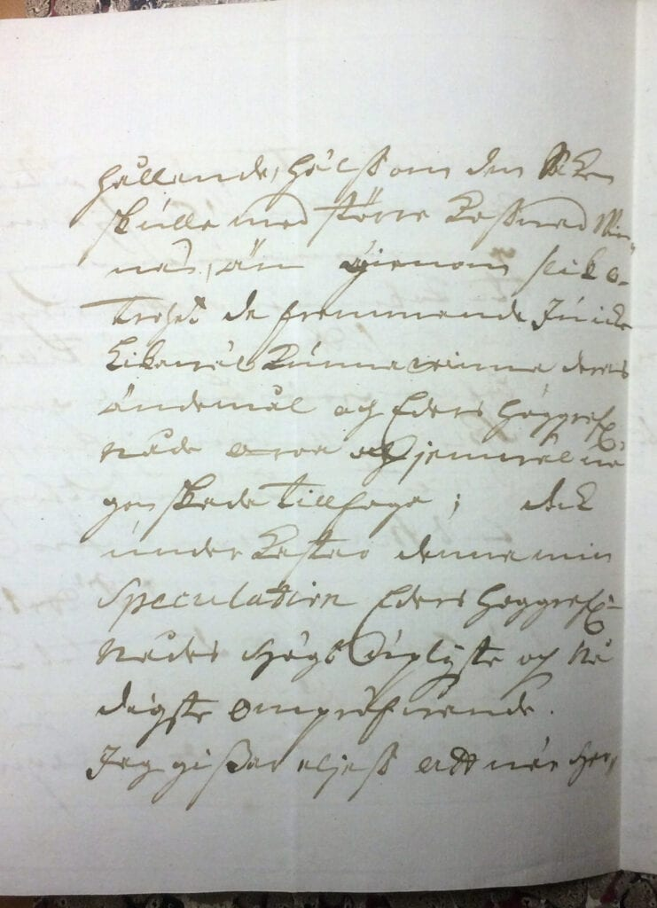 Brev till Christina Piper från Ryting 23 mars 1741 sid 6