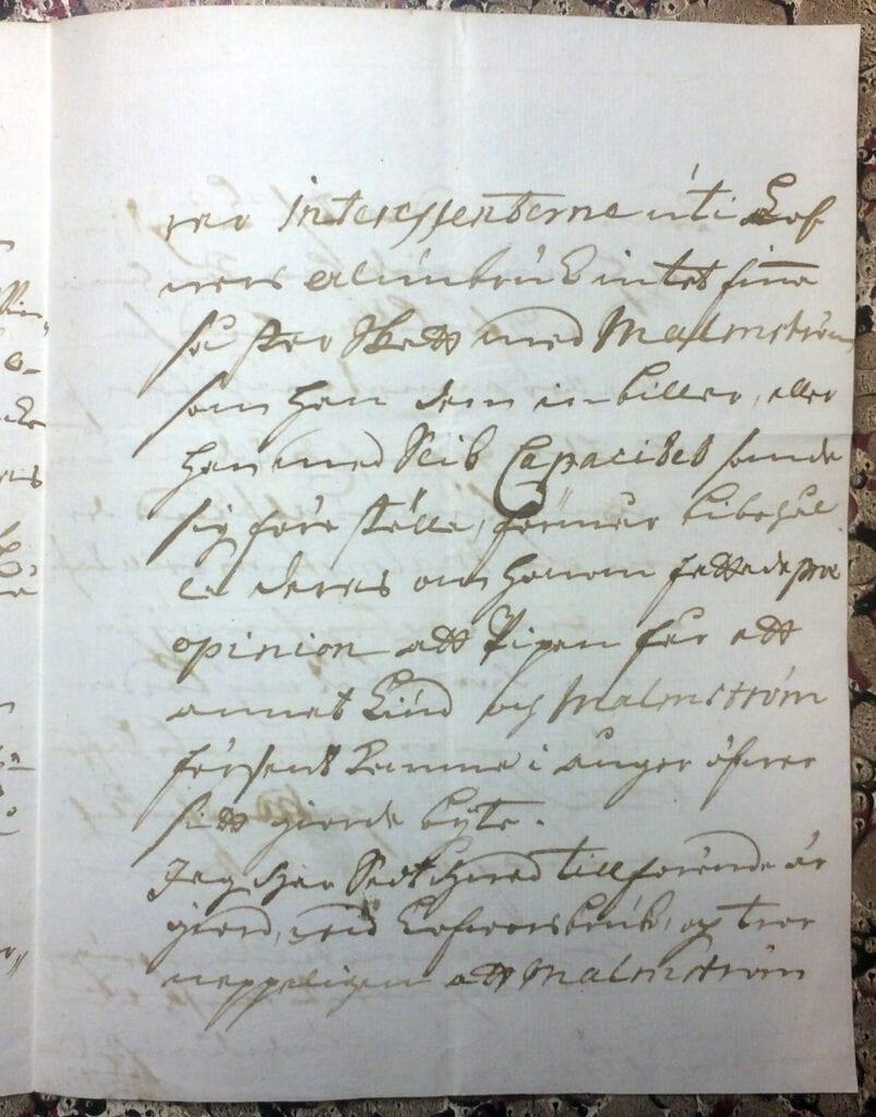 Brev till Christina Piper från Ryting 23 mars 1741 sid 7