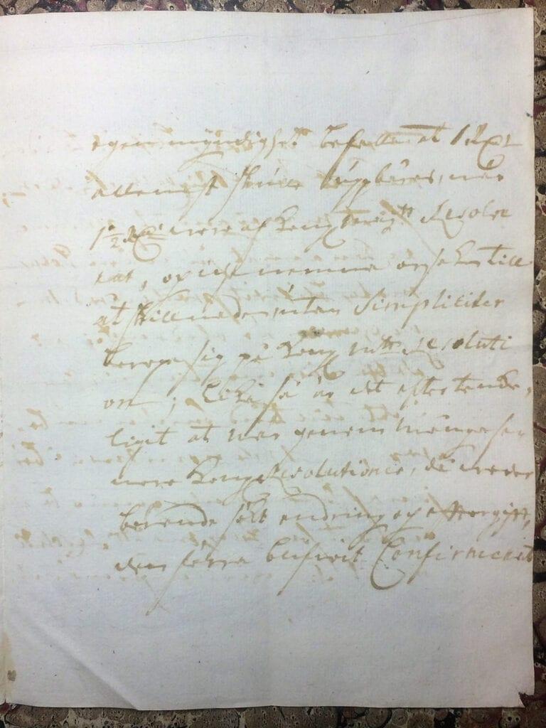 Brev fr Ryting till Christina Piper 11 juli 1741 sid 6