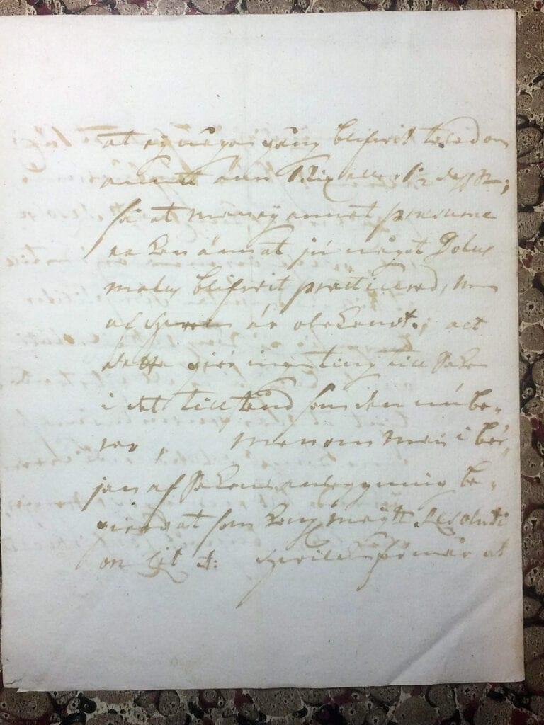 Brev fr Ryting till Christina Piper 11 juli 1741 sid 7