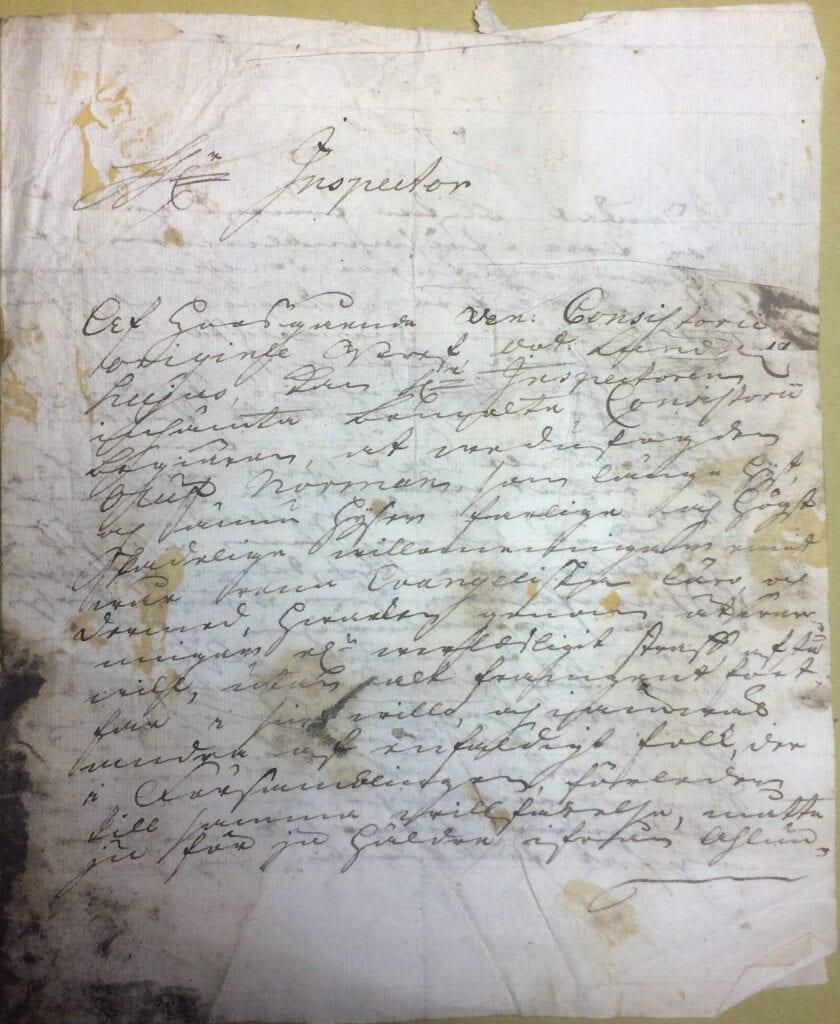 Christina Piper 16 mars 1736 sid 1
