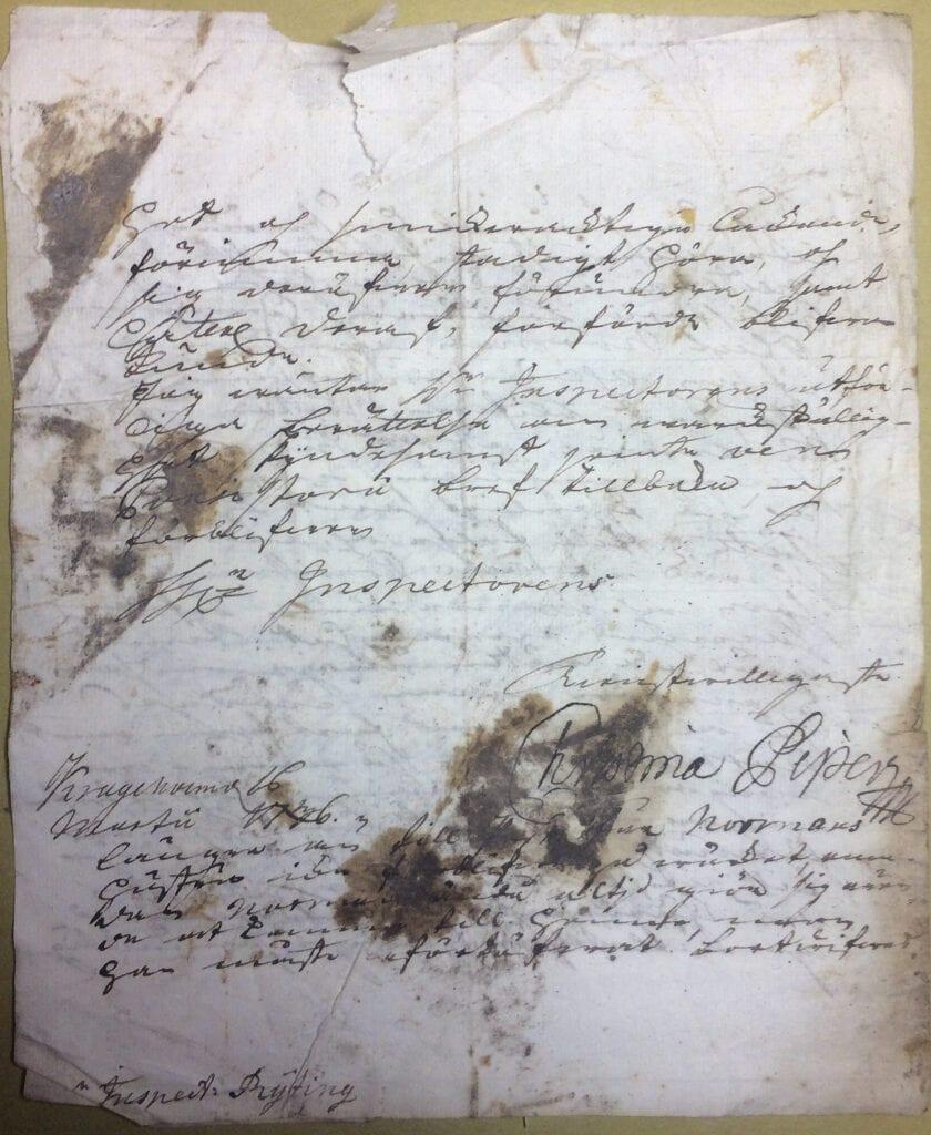 Christina Piper 16 mars 1736 sid 4