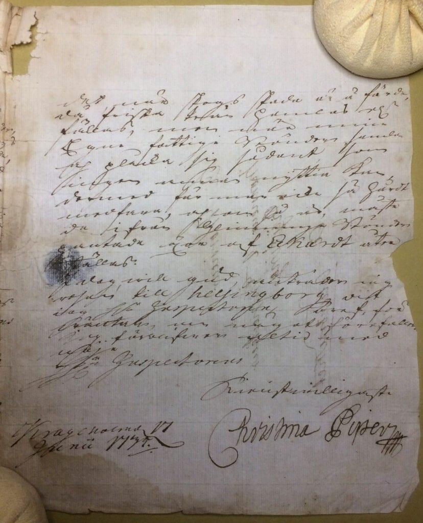 Christina Piper 17 juni 1739 sid 3