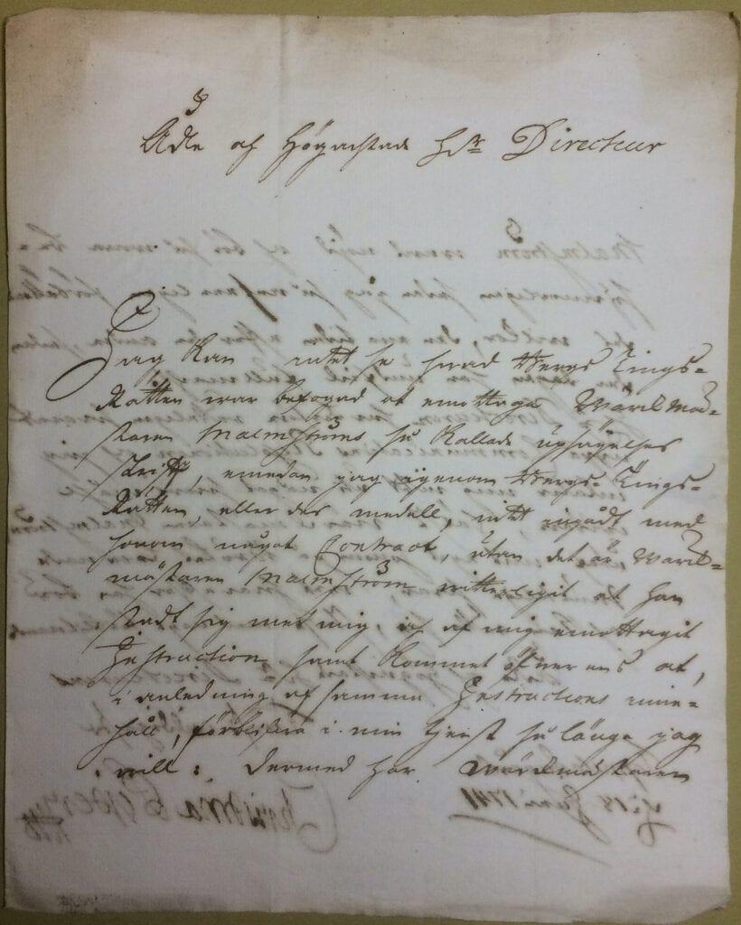 Christina Piper 18 juni 1741 sid 1