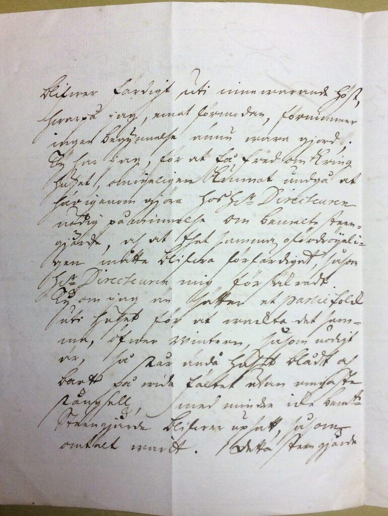 Christina Piper 29 september 1741 sid 2