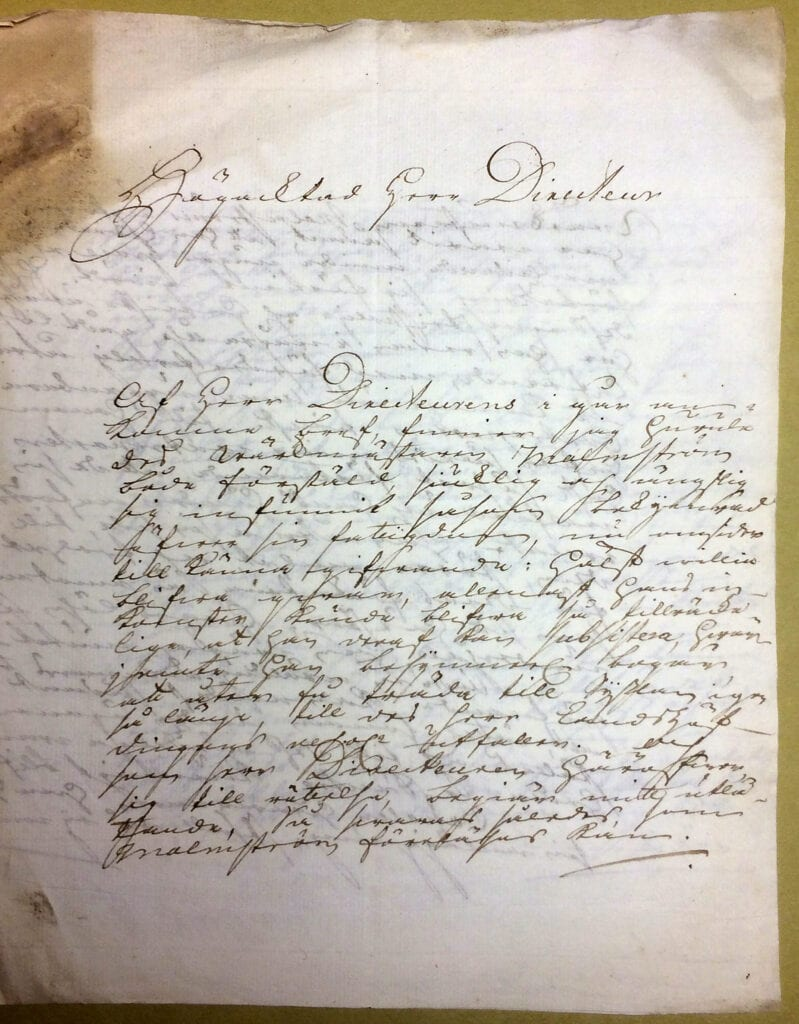 Christina Piper 6 oktober 1741 sid 1
