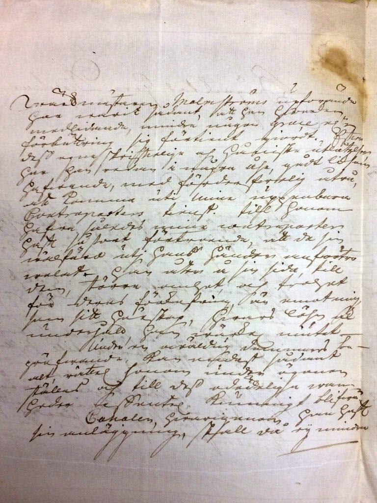 Christina Piper 6 oktober 1741 sid 2