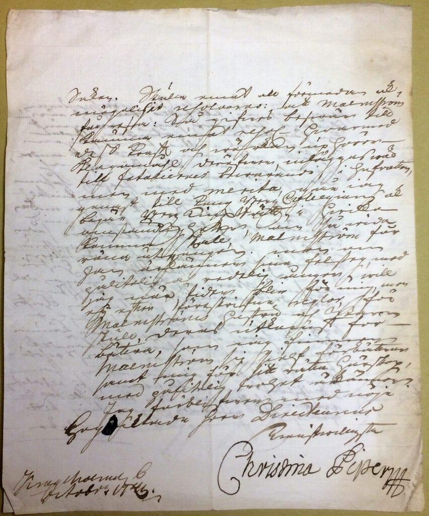 Christina Piper 6 oktober 1741 sid 4