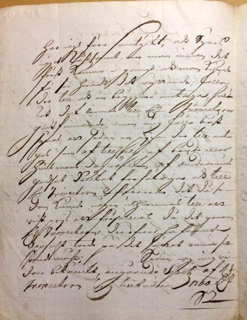 Christina Piper Brev 1.10 1720 sid 2