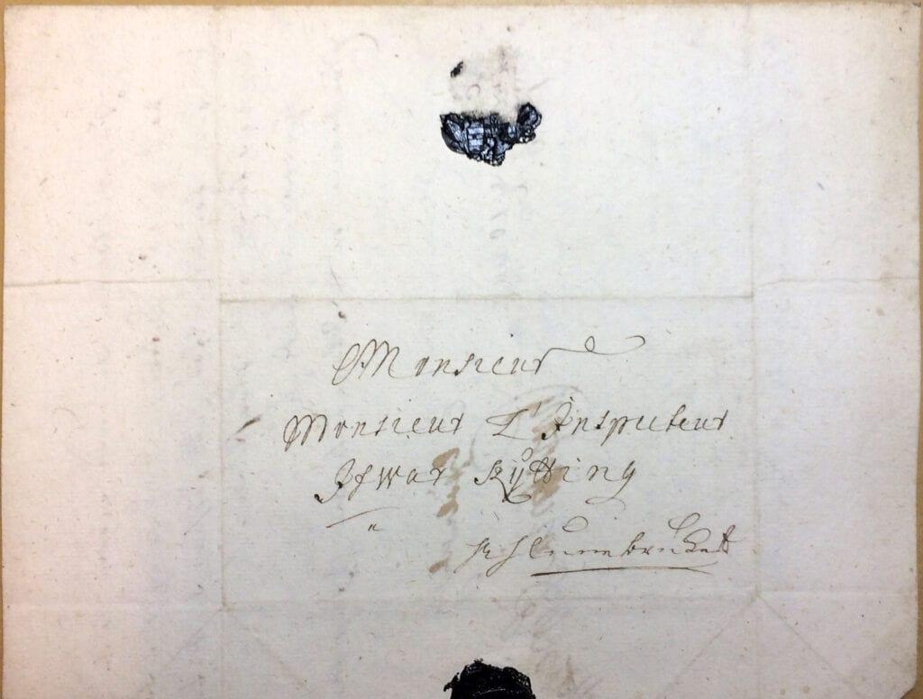 Christina Piper Brev 10.8 1720_kuvert