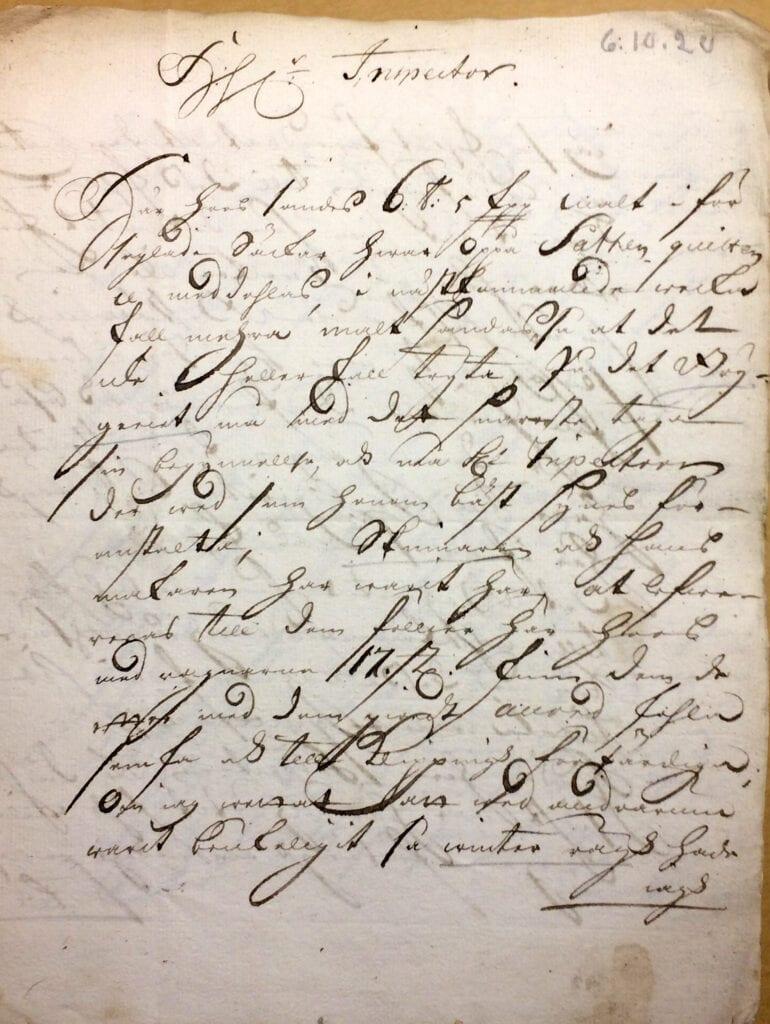 Christina Piper Brev 6.10 1720_sid 1