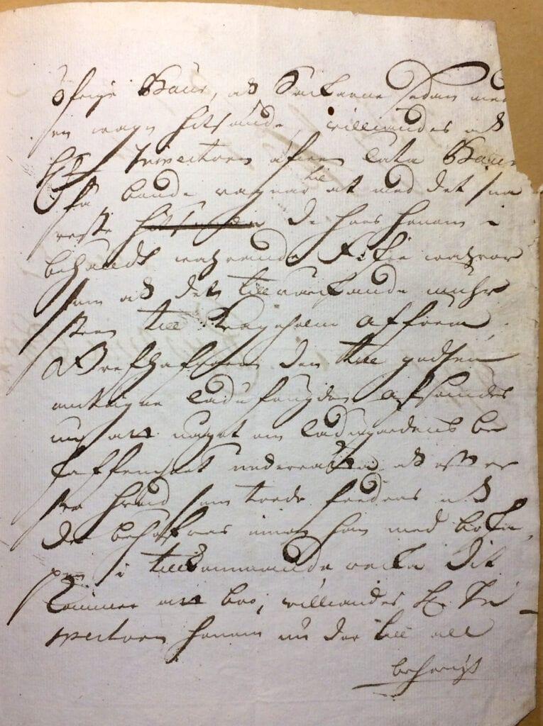 Christina Piper Brev nov 1720 sid 3