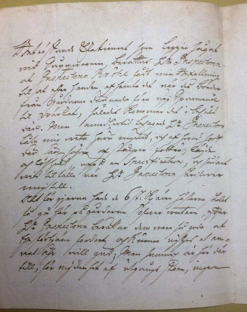 Christina Piper brev 28 oktober 1740 sid 2