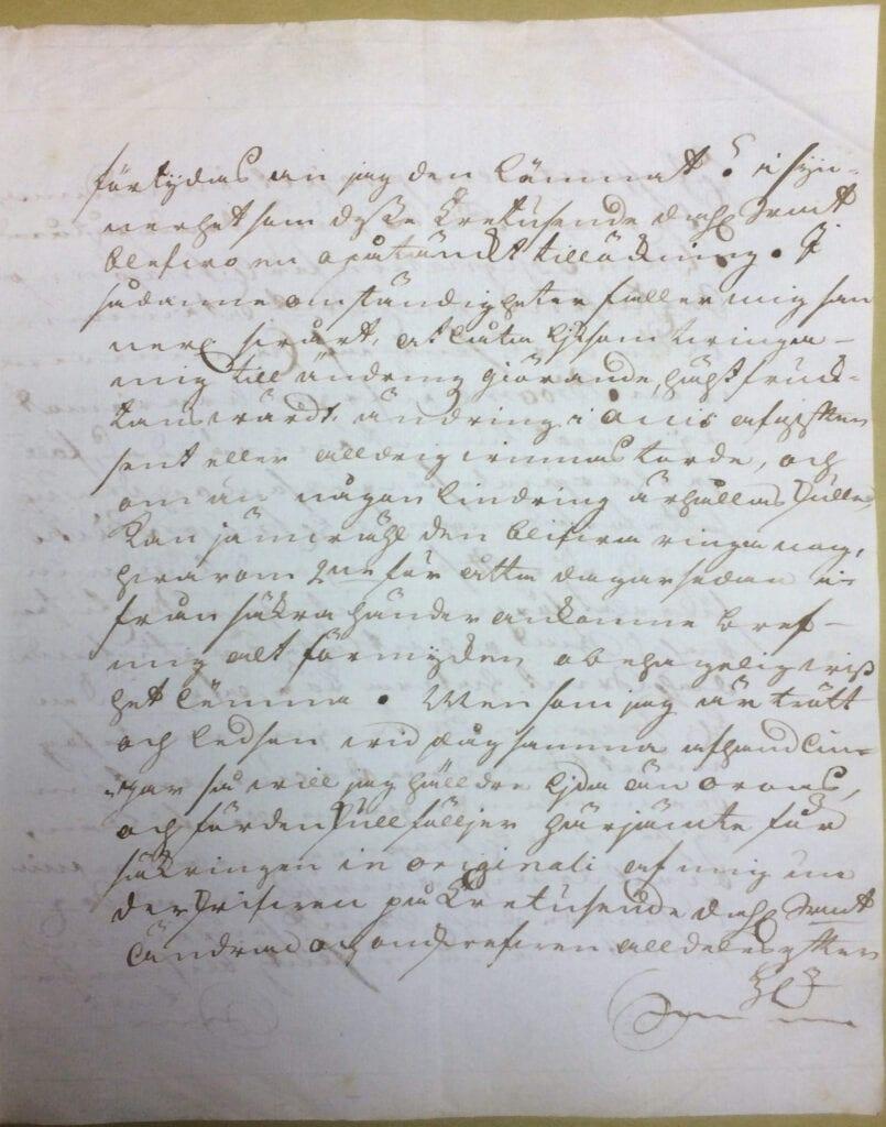 Christina Piper brev 29 juli 1740 sid 3