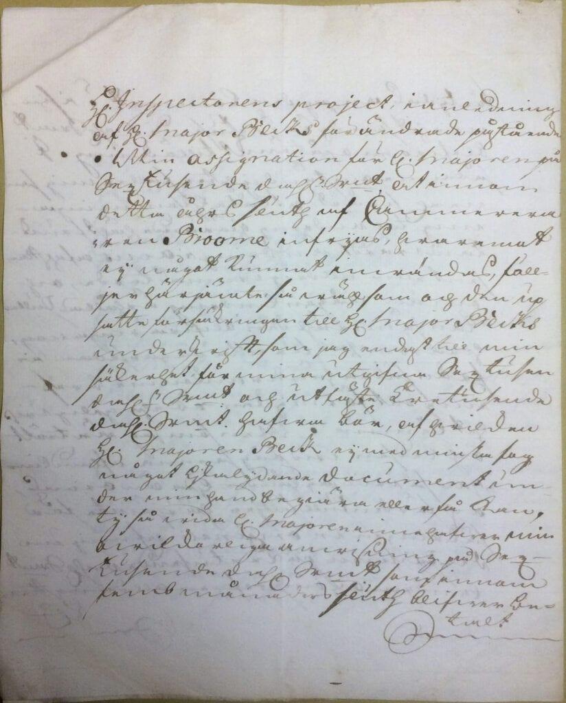Christina Piper brev 29 juli 1740 sid 5