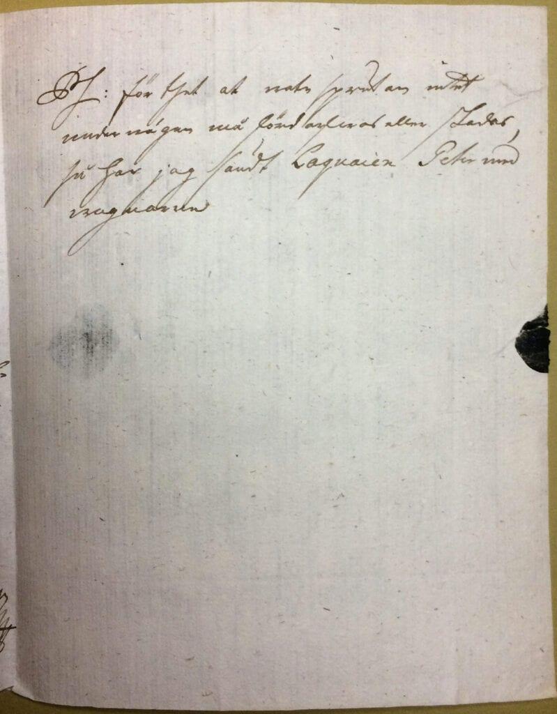 Christina Piper brev 3 november 1741 sid 3