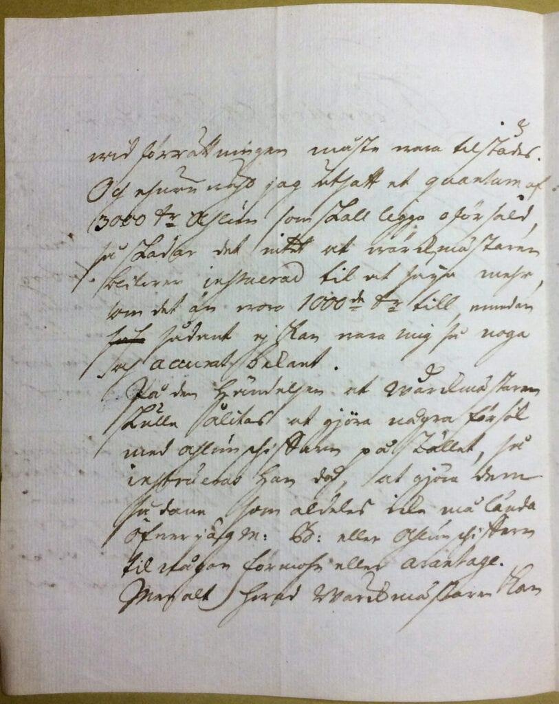 Christina Piper brev aug 1741 sid 2