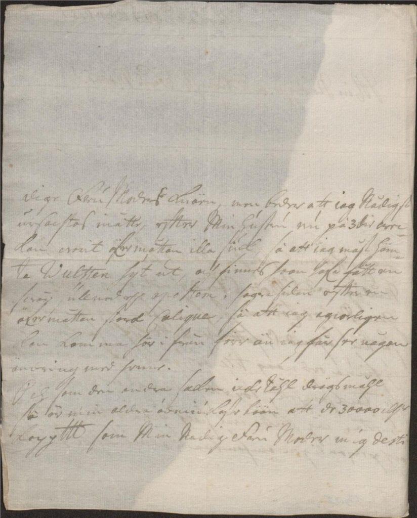 brev Hesslebyholm 21 aug 1725 sid 2