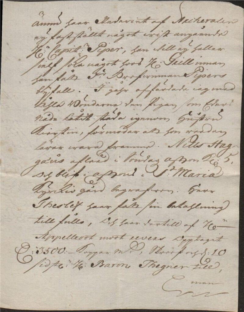 Christina Piper brev utan datum sid 3