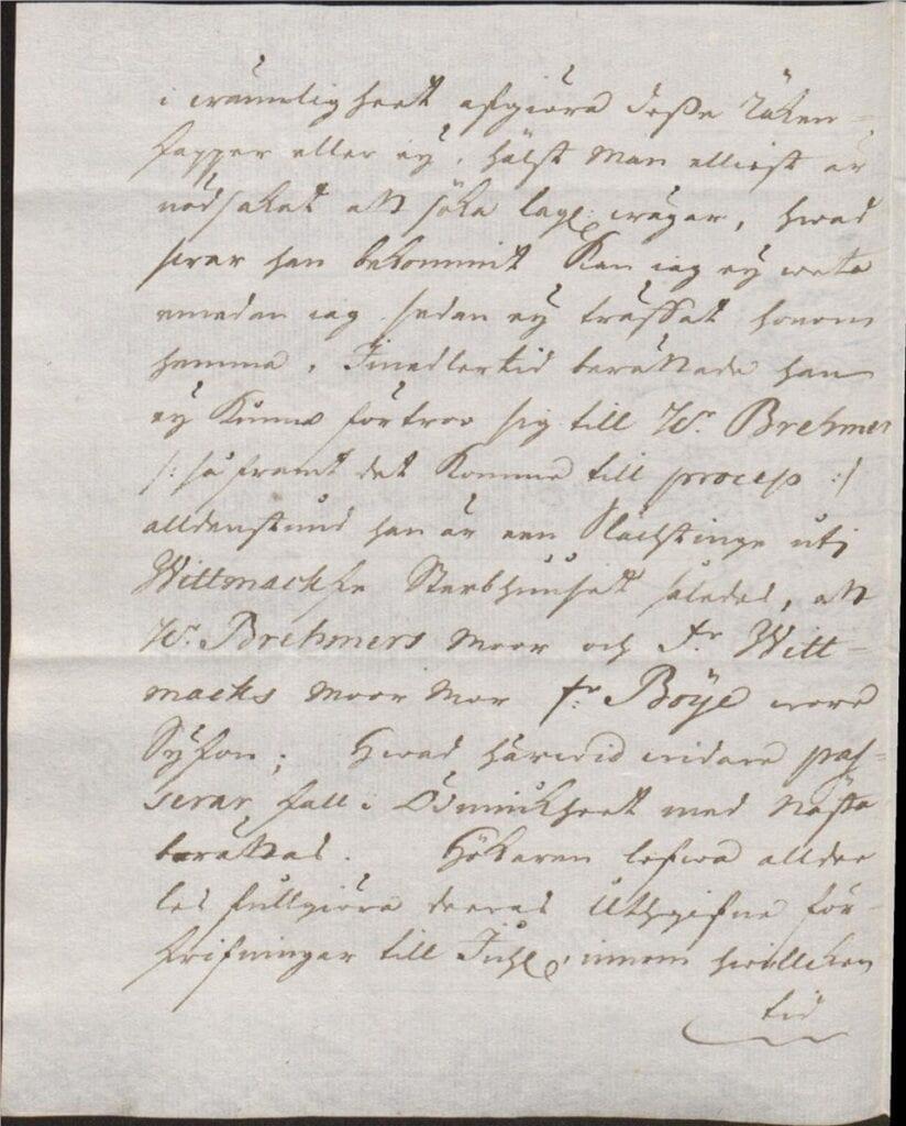 brev från Johan Örnberg 8 dec 1726 sid 2